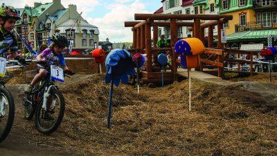 Pumptrack pour les enfants ou les adultes